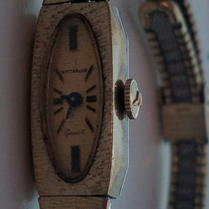 Wittnauer 17 Jewels 10k Gold Fill Watch for Women